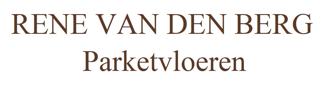 RENE VAN DEN BERG PARKETVLOEREN